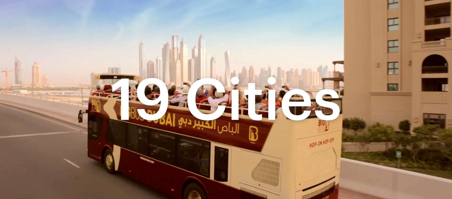 Magegento webáruház Big Bus 19 városban