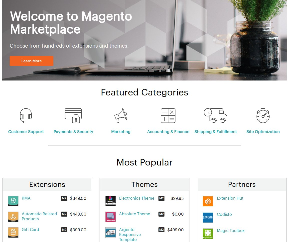 Magento Marketplace a Connect helyett